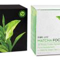 Recevez gratuitement un échantillon de thé matcha énergie et thé matcha focus