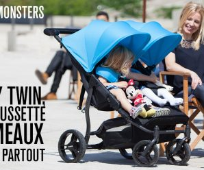 Testez gratuitement la poussette pour jumeaux Easy Monster