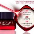 Testez gratuitement le soin anti-âge Revitalift Laser L'Oréal
