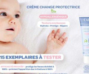 Testez gratuitement la crème de change protectrice pour bébé Cattier Paris