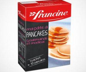 Testez gratuitement la préparation pour Pancakes de Francine