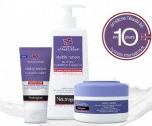 Testez gratuitement un produit Visibly Renew de Neutrogena
