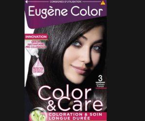 Testez gratuitement la coloration Color & Soins d'Eugène Color