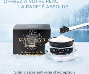 Testez gratuitement la crème de jour KAVIAAR KARE