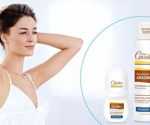 Testez gratuitement le déodorant Absorb+ Efficacité 48H de Cavaillès