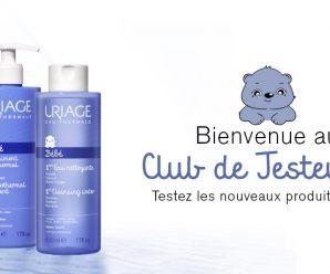 Testez gratuitement l'eau thermale pour bébé d'Uriage