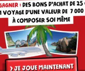 Participez au concours pour remporter un bon d'achat de 25€ à Intermarché