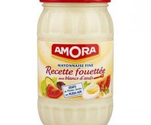 Profitez d'une réduction de 1€ pour l'achat de 2 mayonnaises Amora