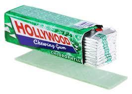 Profitez d'une réduction de 1.40€ pour l'achat de 2 paquets de chewing-gums Hollywood