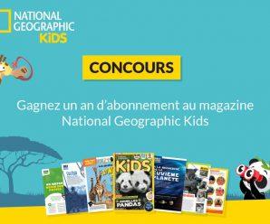 Participez au concours pour tenter de remporter un abonnement à National Geographic Kids