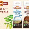 Testez gratuitement les boissons Riz Quinoa Cacao et Riz Quinoa Calcium d'Alter Eco