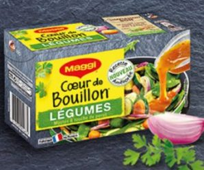 Testez gratuitement les capsules Coeur de Bouillon Légumes de la marque Maggi