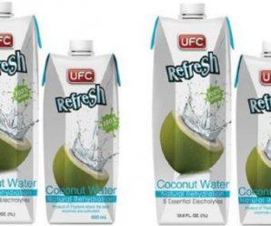 Testez gratuitement l'eau de coco naturelle UFC