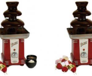 Participez au concours pour remporter une fontaine à chocolat Simeo