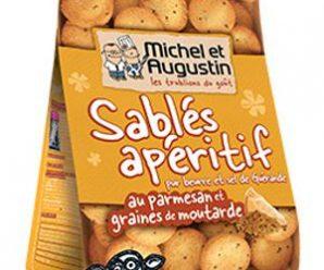 Testez gratuitement les sablés apéritif au parmesan de Michel et Augustin