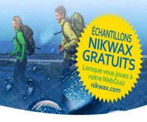 Recevez gratuitement un échantillon du nettoyant spécialisé Nikwax Tech Wash