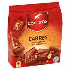 Profitez d'une réduction de 1.70€ pour l'achat d'un produit de la gamme Côte d'Or Carrés