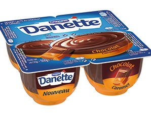 Profitez d'une réduction de 0.45€ sur les Danette double saveur