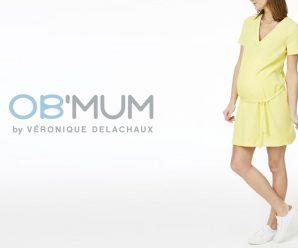 Testez gratuitement la robe grossesse ceinturée OB'MUM
