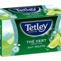 Testez gratuitement le thé Tetley Green Tea Mojito