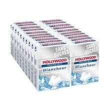 Profitez d'une réduction de 1.50€ pour l'achat de 2 paquets de chewing-gums Hollywood Blancheur