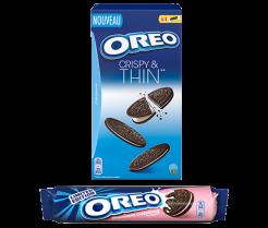 Profitez d'une réduction de 1.20€ pour l'achat de 2 paquets d'Oreo au choix