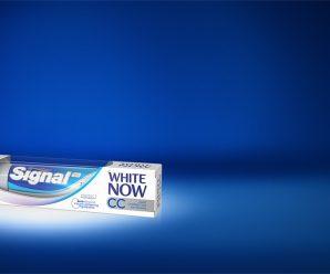 Profitez d'un bon de réduction de 2€ pour l'achat d'un dentifrice Signal White Now CC