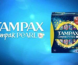 Testez gratuitement les Tampax Compak Pearl