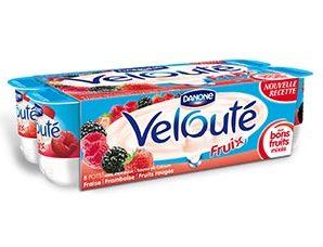 Profitez d'une réduction de 0.40€ pour l'achat du produit Velouté Fruix de Danone