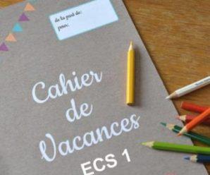 Recevez gratuitement un cahier de vacances pour vos enfants