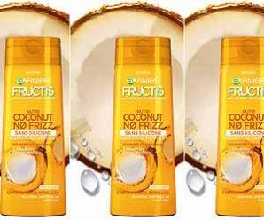 Recevez gratuitement un échantillon de shampoing Nutri Coconut No Frizz pour nourrir et discipliner les cheveux