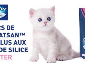 Testez gratuitement la litière Cristal Plus en silice pour chat