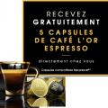 Recevez gratuitement un échantillon de capsules l'Or Espresso