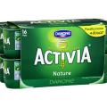 Profitez d'une réduction de 0.40€ pour l'achat de yaourts Activia Nature