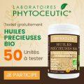 Testez gratuitement les Phytoceutic Huiles Précieuses Bio