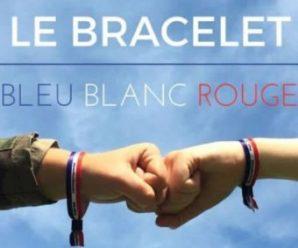 Recevez gratuitement un bracelet Bleu Blanc Rouge