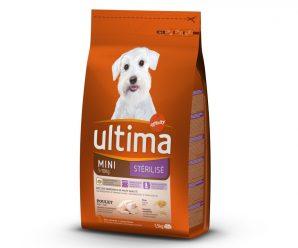 Testez gratuitement les croquettes Ultima pour mini chiens adultes
