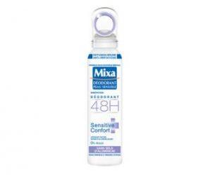Testez gratuitement le déodorant Sensitive Confort de Mixa