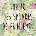 Recevez gratuitement un livret de recettes TOP 10 salades de Printemps