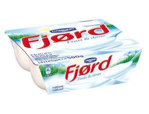 Profitez d'une réduction de 0.35€ pour l'achat du produit Fjord de Danone