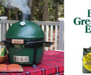 Participez au concours pour tenter de remporter un barbecue Big Green Egg