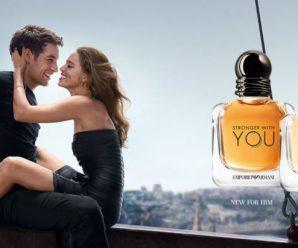 Testez gratuitement le parfum Stronger With You de Emporio Armani