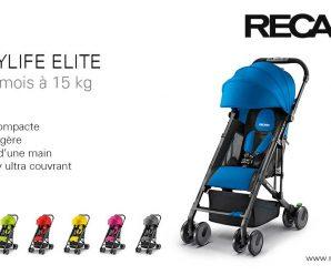 Testez gratuitement la poussett Easylife Elite de Recaro