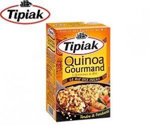Testez gratuitement le quinoa gourmand de Tipiak
