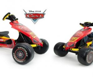 Participez au concours pour tenter de remporter une voiture pour enfants Kart Cars