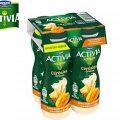 Testez gratuitement Activia – Céréales à boire Ananas Mangue