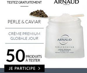 Testez gratuitement la Crème Premium Perle et Cavia de l'Institut Arnaud