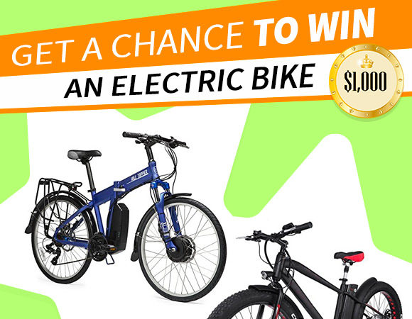 Get a chance to win an Electric bike
