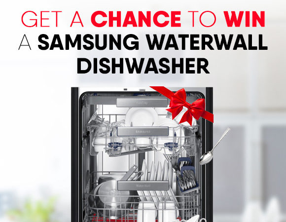 Get a chance to win a Dishwasher