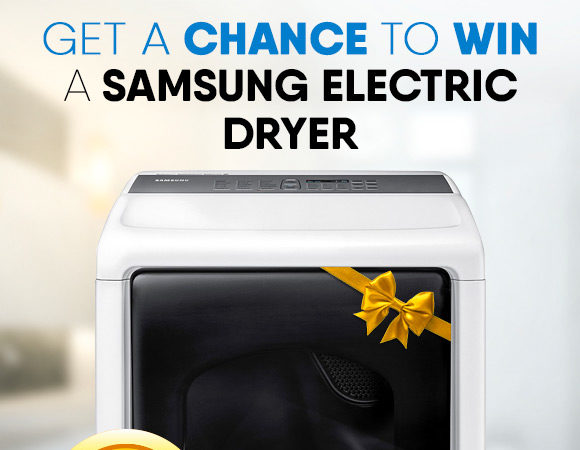 Get a chance to win a Dryer